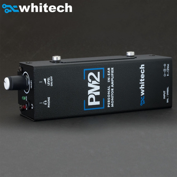 Amplificador De Fone Pm2 - Whitech Powerplay Powerclick