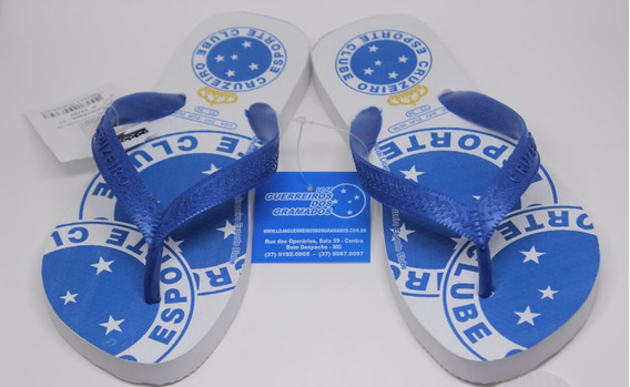Chinelo Do Cruzeiro Escudos Original