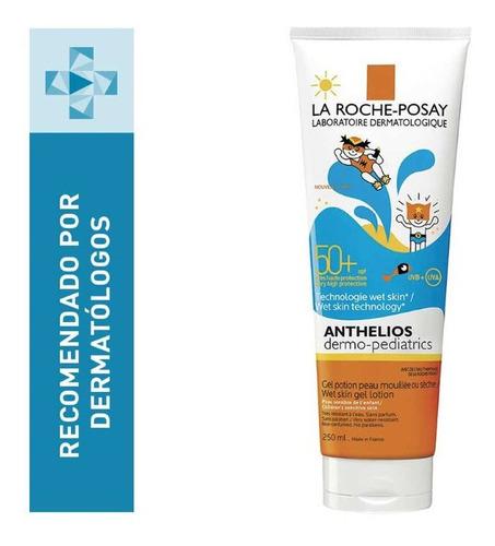 Imagen 1 de 2 de Anthelios Dermo-pediatrics Gel-crema Wet Skin Fps 50+ 250ml