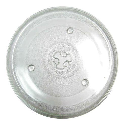 Plato Horno Microondas 24.5cm  Soporte Trebol Nuevo