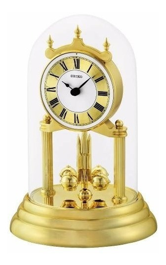 Reloj De Mesa Seiko Qhn006g | Original | Agente Oficial