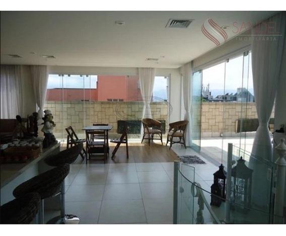 Linda Cobertura Duplex Mobiliada Em São Vicente Com 410m², 3 Dorm (2suítes) (l) - Co0005