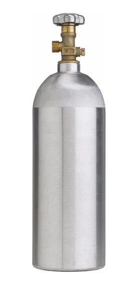 Bombona De Co2 Aluminio ,vacia, Capacidad 5 Libras