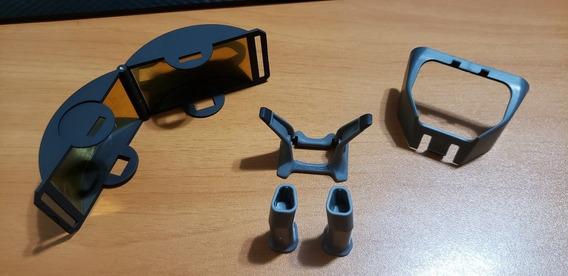 Kit Mavic Pro (pés Para Pouso+defletor+protetor Sol Gimbal