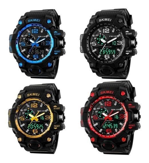 Relógios Masculino Sport Shock Skmei Frete Grátis