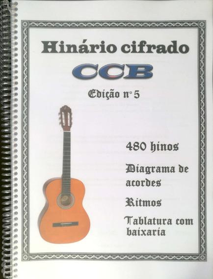Hinário Cifrado Para Violão Edição N° 5 Colorido / Ccb