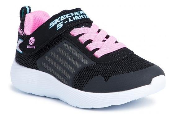 Zapatillas Niña Luces Skechers Nenas - Envio Gratis