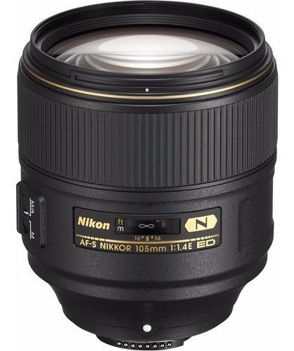 Objetiva Nikon 105mm F/1.4e Ed - Temos Loja