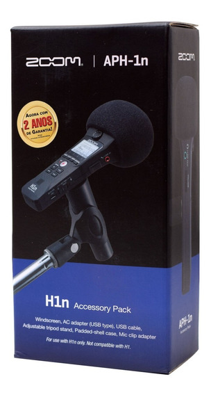 Kit De Acessórios Para Gravador H1n Zoom Aph-1n