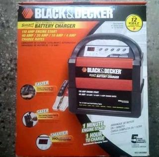 Cargador Inteligente B&d Baterías Vehículos