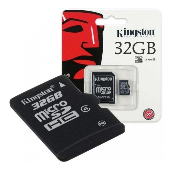 Cartão Micro Sd 32gb Kingston Lg Motorola Samsung Lenovo