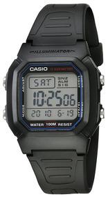 Reloj Casio W-800h-1avcf Resistencia Al Agua 100m Crono Luz
