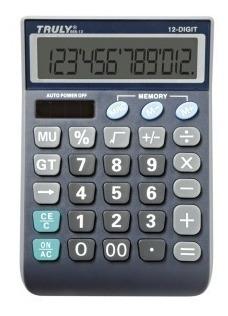 Calculadora De Mesa Truly 866-12 - 12 Dígitos