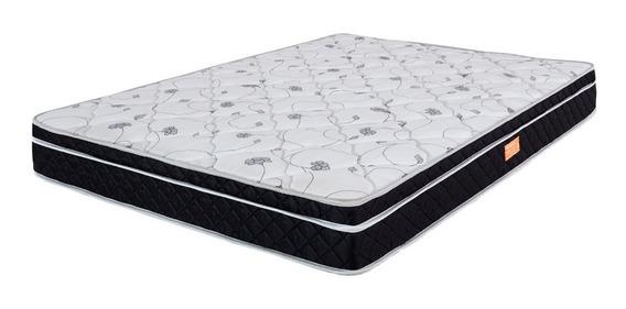 Colchão Casal Certificado Pillow Molas Verticoil 138x188cm