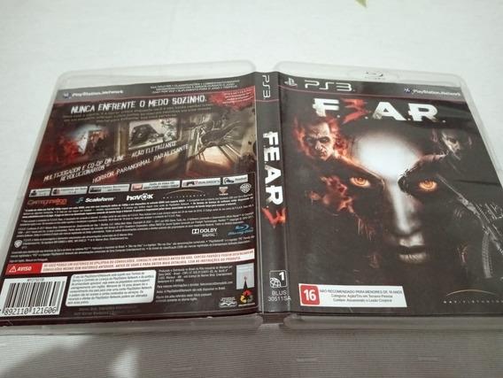 Fear 3 Legendado Ps3 Play3 LG