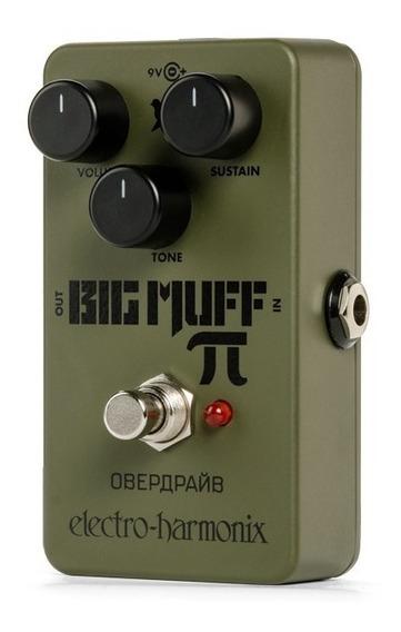 Pedal Electro Harmonix Green Russian Big Muff - Riff Music