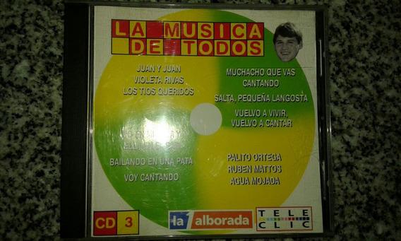 Cd La Música De Todos 1998 Juan Y Juan Palito Ortega Donald