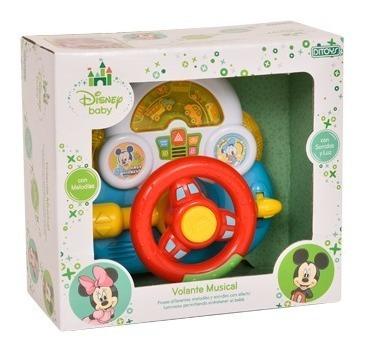 Volante Musical Disney Baby Original Ditoys Melodias Sonidos