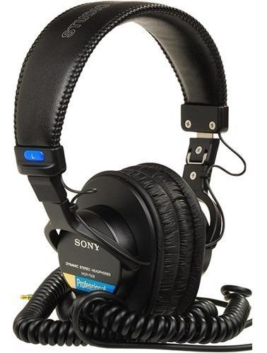 Headphone Sony Mdr-7506 Fone Profissional Dj Acústico