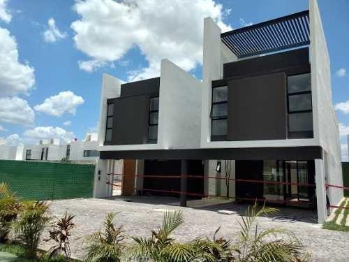 Villa Privada Luana,sta Gertrudis Copó, Mod: B, 2 Plantas, 2 Habitaciones, En Mérida, Yucatán.