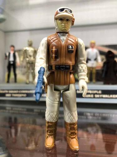 Star Wars Vintage Kenner Esb 1980 Rebel Hoth Soldier V30