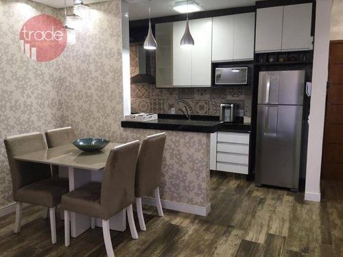 Imagem 1 de 18 de Apartamento Com 2 Dormitórios À Venda, 65 M² Por R$ 299.000,00 - Iguatemi - Ribeirão Preto/sp - Ap7197