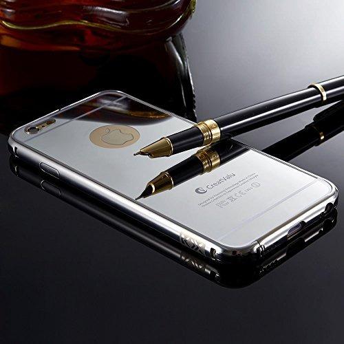 0a3d1d10a8f Bumper Funda Case Para iPhone 5 5s 6 6s Plus Metal Espejo - $ 119.00 en  Mercado Libre