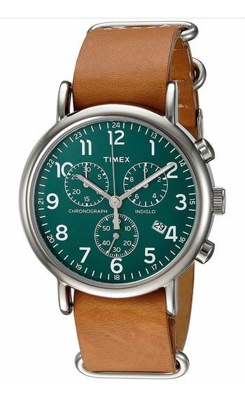 Reloj Timex Weekender Chrono 40mm Nuevo!