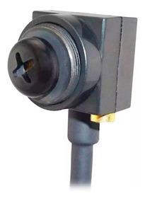 Micro Mini Câmera Espia Lente Noturna Microfone Ccd Parafuso