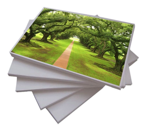 100 Folhas Papel Fotográfico Glossy A4 230g - Prova D