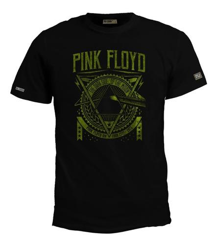 Camiseta Pink Floyd Rock Metal Logo Eco
