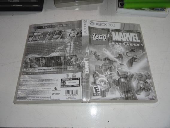 Lego Marvel Super Heroes Xbox 360 Midia Fisica Original
