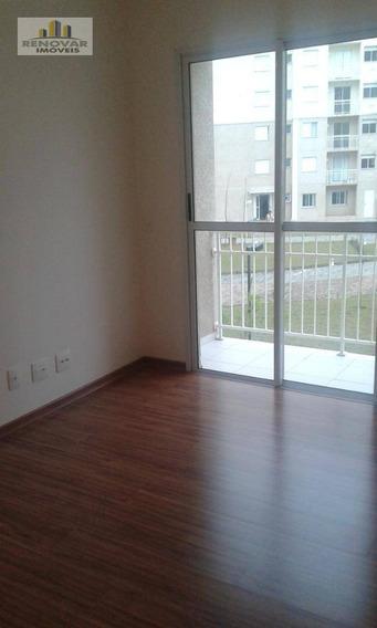 Apartamento Com 2 Dormitórios Para Alugar, 46 M² Por R$ 1.100,00 - Vila Mogilar - Mogi Das Cruzes/sp - Ap0060