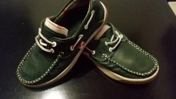 Zapatos Náuticos Niño Boating Nro.32.5. 20.5cm