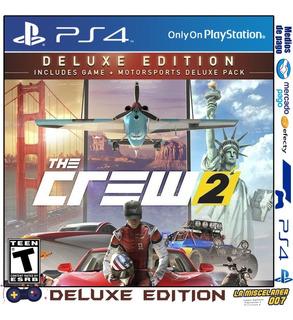 The Crew 2 Deluxe Edition Ps4 Digital   Cupo Principal