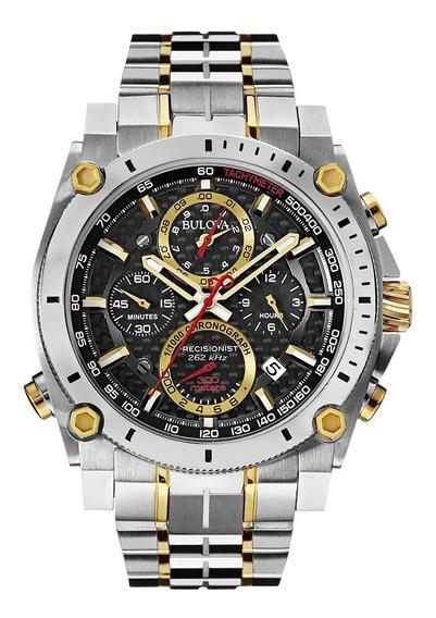 Relógio Masculino Bulova Precisionist Aço 98b228