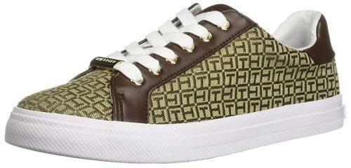 Zapato Tenis Tommy Hilfiger Dama Lirna Cuero 100 Original