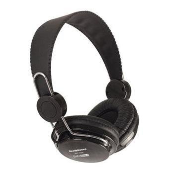 Fone Ouvido Satellite Ae-860 Preto Headphones + Microsd 8gb