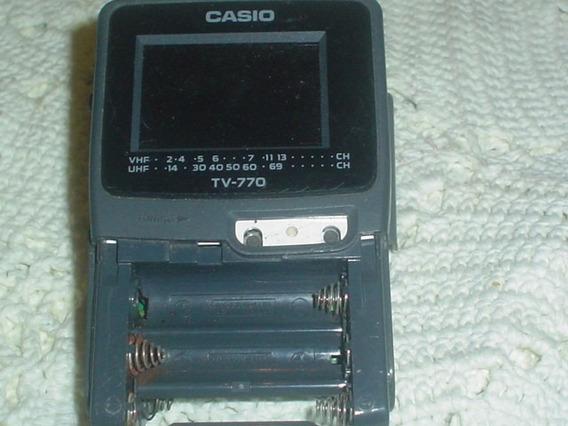 Mini Tv Casio 770 Lcd