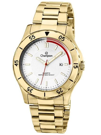 Relógio Masculino Champion Dourado Ca30150h