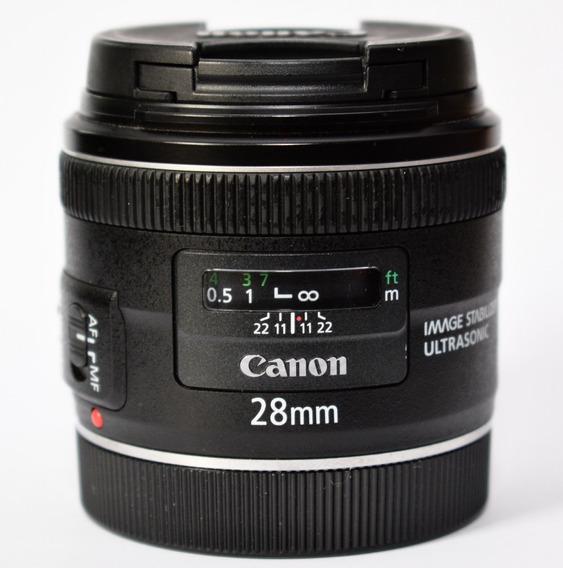 Lente Canon 28 2.8 Usm Is