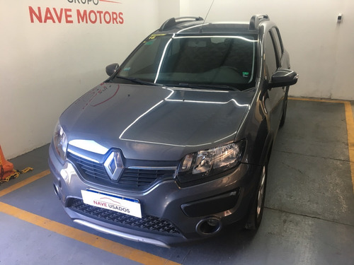 Renault Sandero Stepway Privilege Nav 2016 Gris Aa391