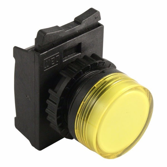 Frontal Sinaleiro Difuso Amarelo 22mm Weg Csw-sd3 Kit 5pçs