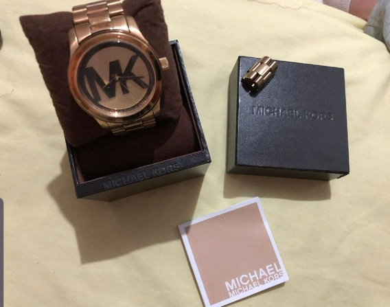 Relógio Michael Kors Mk Dourado