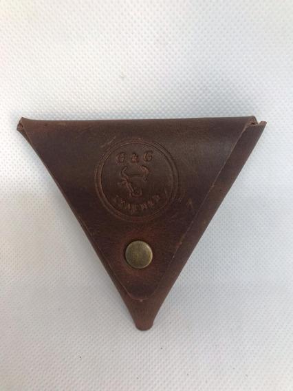 Monedero Triangular Chocolate
