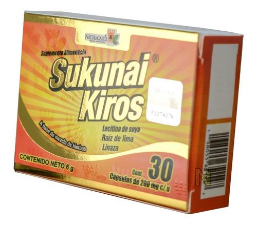 Imagen 1 de 4 de Sukunai Kiros (30 Caps) Naturacastle