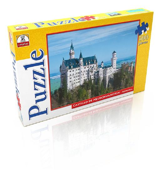 Rompecabeza Castillo Neushwastein 500 Piezas - Implás