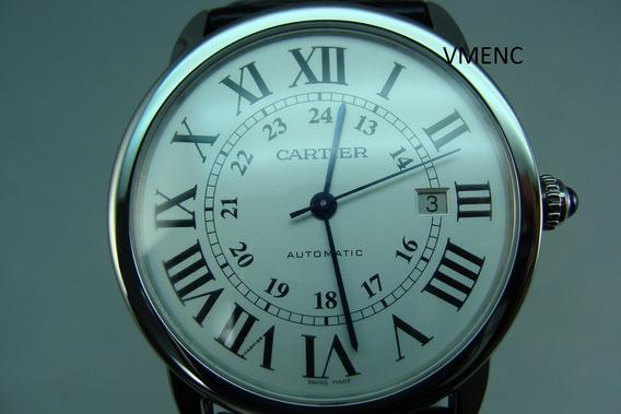 Cartier Ronde Solo De Caballero X L Automático Calibre 049