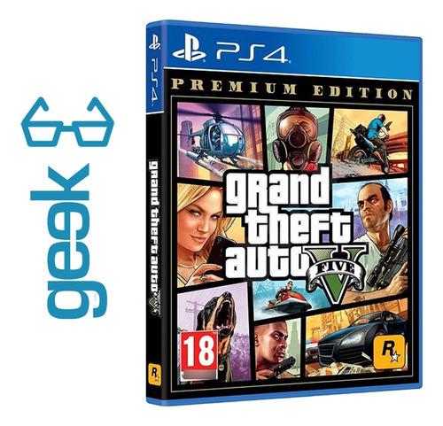 Imagen 1 de 8 de Gta 5 Premium Edition Ps4 - Nuevos - Sellados - Ecuador Geek