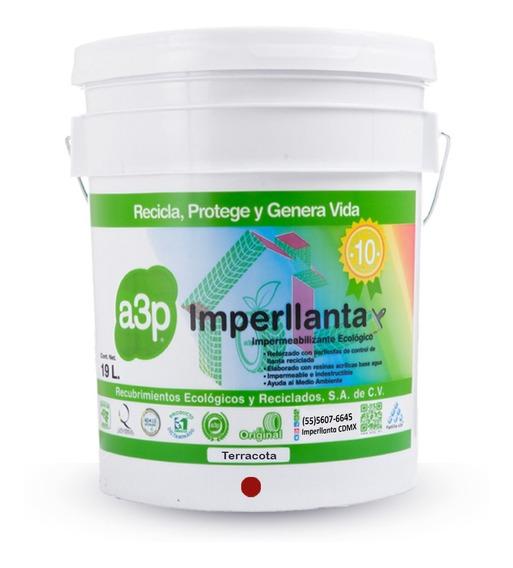 Imperllanta Impermeabilizante De Llanta 10 Años Terracota